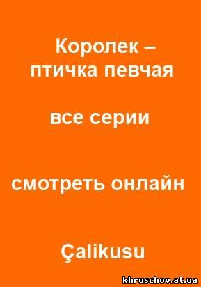Королек Птичка Певчая (6,7 Серия)